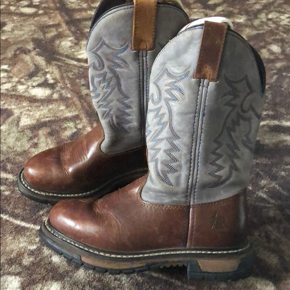 Rocky Shoes - Rocky Leather pull on boot Size 6